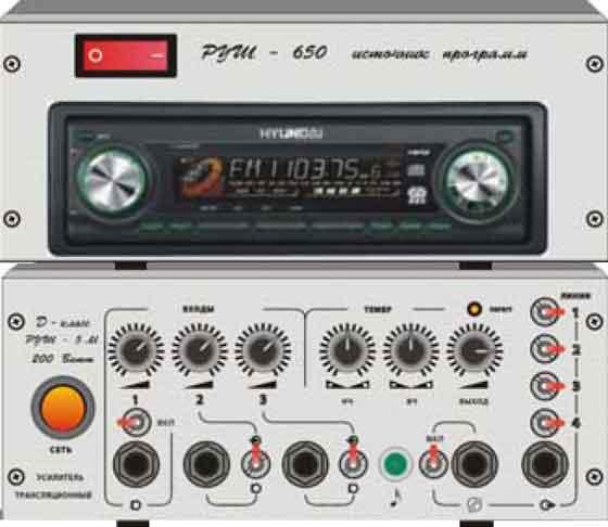 Полнофункциональный радиоузел новой серии РУШ 5 НК РУ