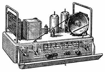 Колхозный радиоузел ''КРУ-10''.