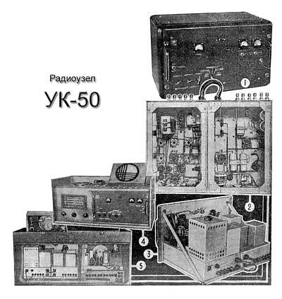 Радиоузел ''УК-50''.